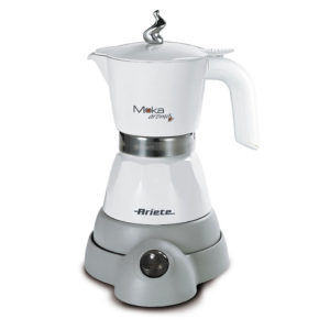 Ariete AR1358-WH Moka Aroma cafetiere electrique blanche